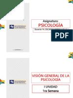 1ra Semana - Psicología - 2016-i