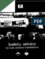 Hsg28 - Safety Advice for Bulk Chlorine Installations