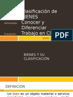 CLASE 05 Clasificacion de BIENES