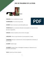 Diccionario de Términos Regionales de La Selva