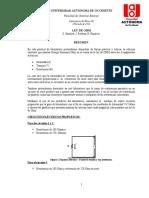 Demostracion Practico Teorica de La Ley Ohm