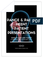 EENT PANCE and PANRE Content Blueprint Patient Presentations