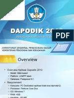 Dapodik 2013 Aplikasi Pendataan