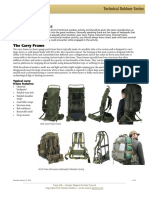 Technical Outdoors Series – BackPack