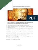 Biografia y Aportes de Cientificos a La Fisica.