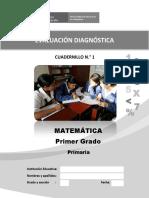 1-1 Evaluacion Diagnostica Primer Grado_cuadernillo 01-11-04_2016