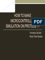 How to Make Microcontroller Simulation on Proteus