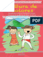 Patrimonio Inmaterial de los Montes de María - Cartilla para colorear