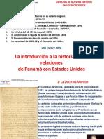 Introducción a La Historia de Las Relaciones Entre Panamá y Los Estados Unidos