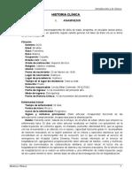 Medicina (Modelo de historia clinica)
