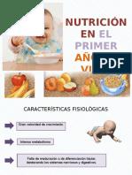 nutricion en el primer año de vida