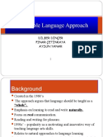 The Whole Language Approach