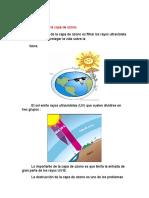 Capa de Ozono - Ecología