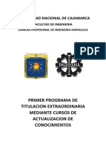 Titulacion Ingenieria Hidraulica