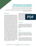 Protocolo de Actuacion en Las Mucopolisacaridosis