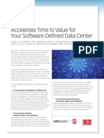 Accelerate Time to Value for Your Software Defined Data Center