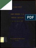 Juan Cordero y la pintura mexicana