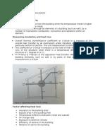 Energy Transfer in Buildings