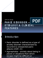 Panic Disorder _ Etiology & Clinical Features