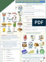 Food Countable - Uncountable
