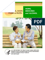 Aging, Medicine & Alcohol- SAMHSA