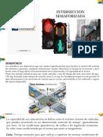 Transito Clase 5 Intersecciones Semaforizadas ( 2da Unidad)