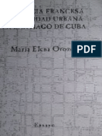 Orozco Melgar Maria Elena - Presencia Francesa E Identidad Urbana en Santiago de Cuba