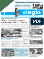 Edicion Impresa El Siglo 02-05-2016