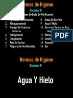 NORMAS DE HIGIENE- FINAL DE LISTA DE VERIFICACIÓN