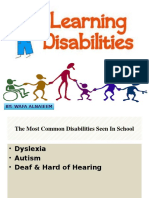 disabilities presentation