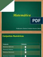 02 - Conjuntos Numéricos