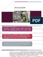 Desigualdad en Ecuador