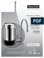 WaterChef Installation Manual U9000 Under Sink