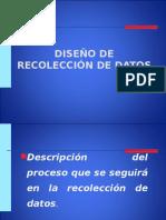 Diseño de Recolección de Datos