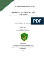 Diagnostik Dan Remedial Teaching