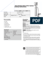 US-EZ Culligan Manual