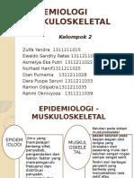 EPIDEMIOLOGI MUSKULOSKELETAL