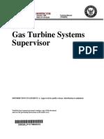 Gas Turbine Systems Supervisor
