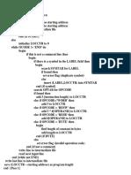 Assembler Pass 1 and Pass2 Algorithm