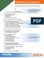 IR Plan Checklist