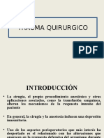 Trauma Quirugico e Inmunosupresion
