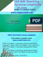 CMGT 410 AID Teaching Effectively www.cmgt410aid.com