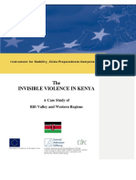 Kenya's Invisible Violence