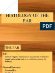 Histology of the Ear
