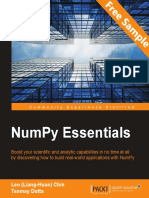 NumPy Essentials - Sample Chapter