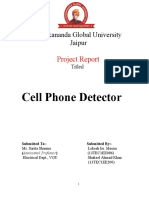 Cell Phone Detector Project Report