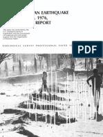 1976 Earthquake Report