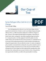 syrianrefugee uspolicy final