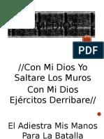 Con mi Dios- Cristiana de Jesus Adrian Romero
