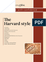 Harvard Style of Referencing